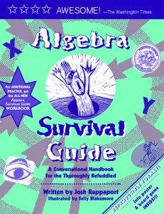 Algebra Survival Guide, now in convenient eVersion!