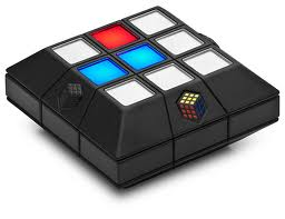 Rubik's Slide, Red and Blue Lit Up