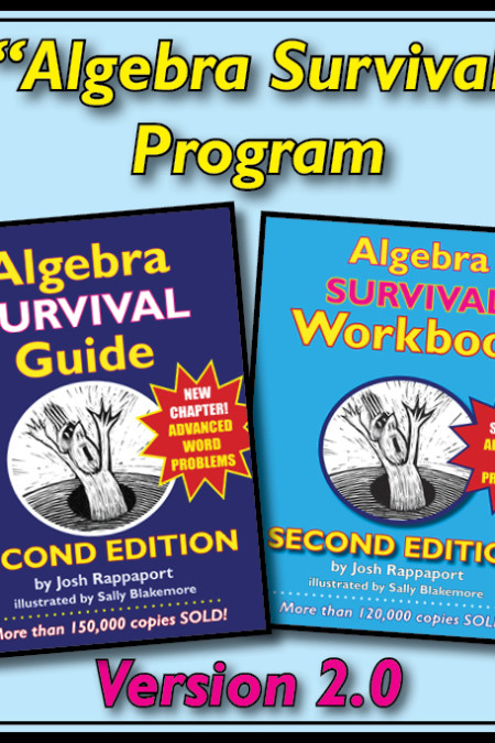 """Algebra Survival"" Program, 2nd Edition"