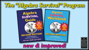 Algebra Survival Guide & Workbook