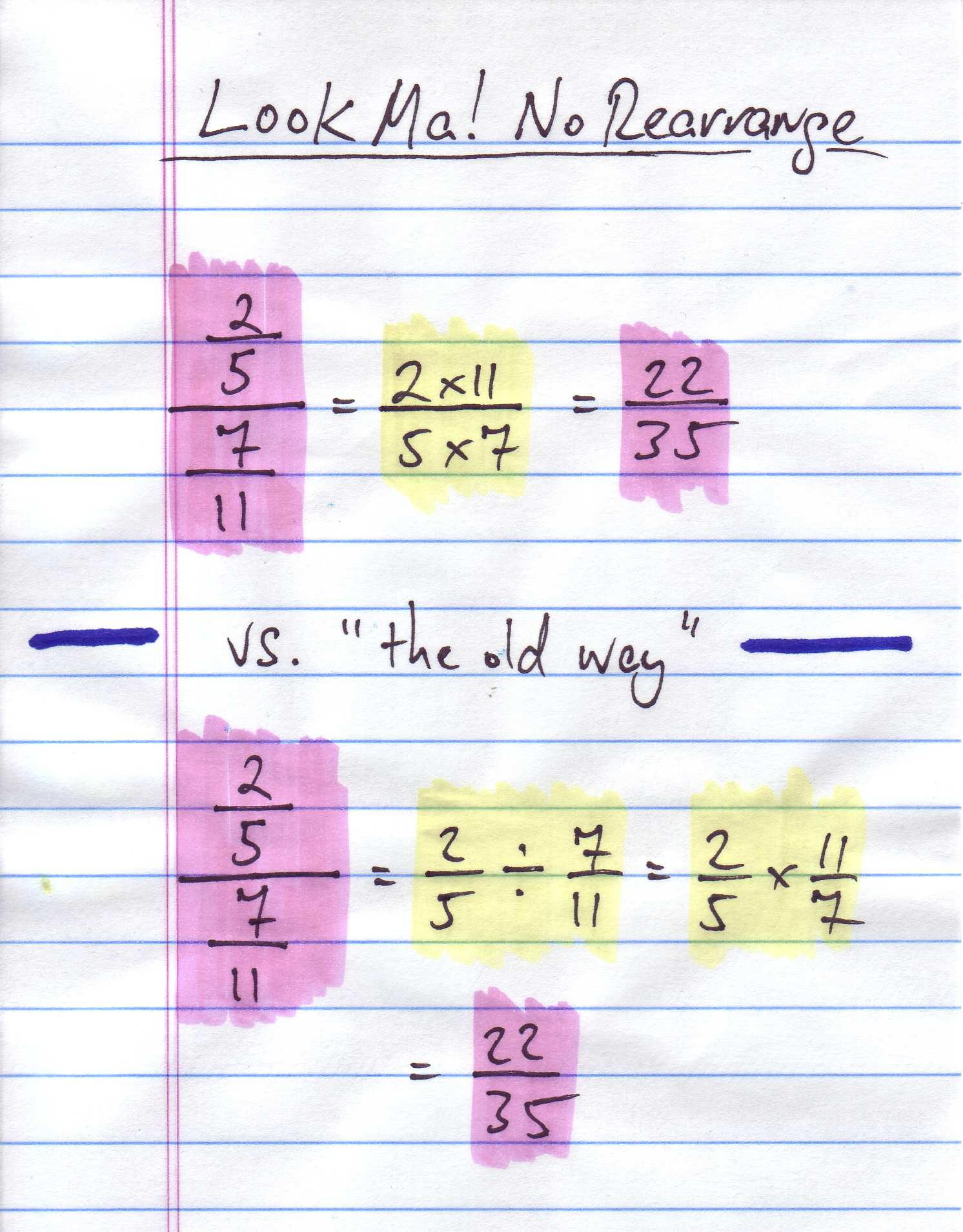 dividing fractions: from annoying to fun! | learning with a playful