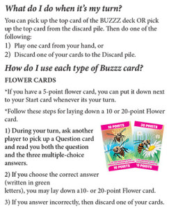 BUZZZ rules page 3