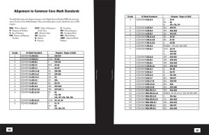 CC standards for ASG-1st Ed
