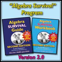 """Algebra Survival"" Program, 2nd Edition"