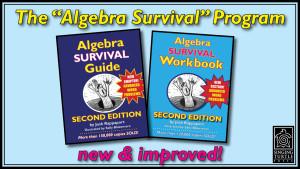 Algebra Survival Guide & Workbook