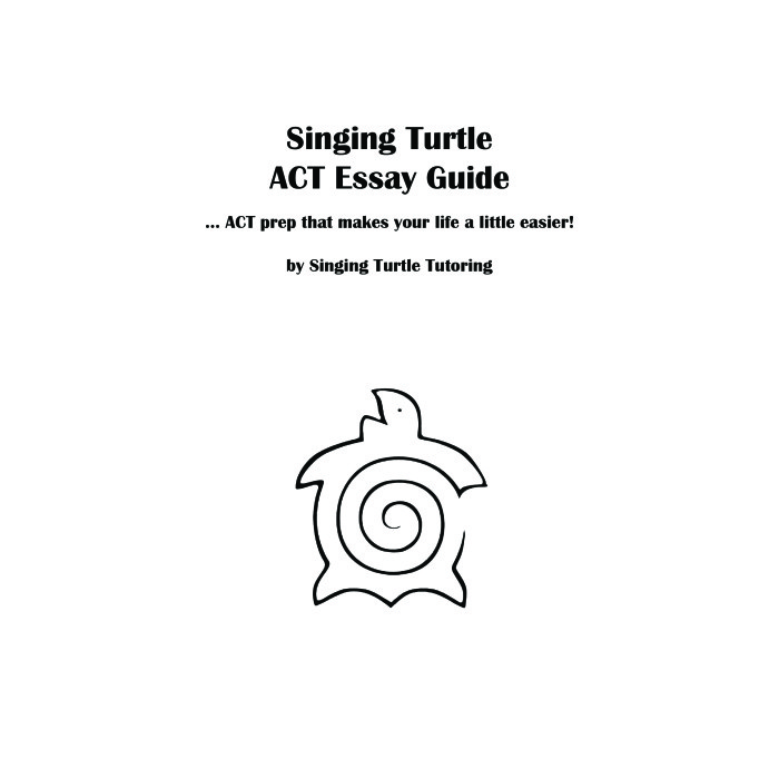 ACT Essay Cover